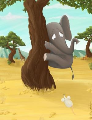 Неужели слон боится мышей?