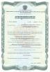Бессрочная лицензия на осуществление производства лекарственных средств для ветеринарного применения. Лицевая сторона